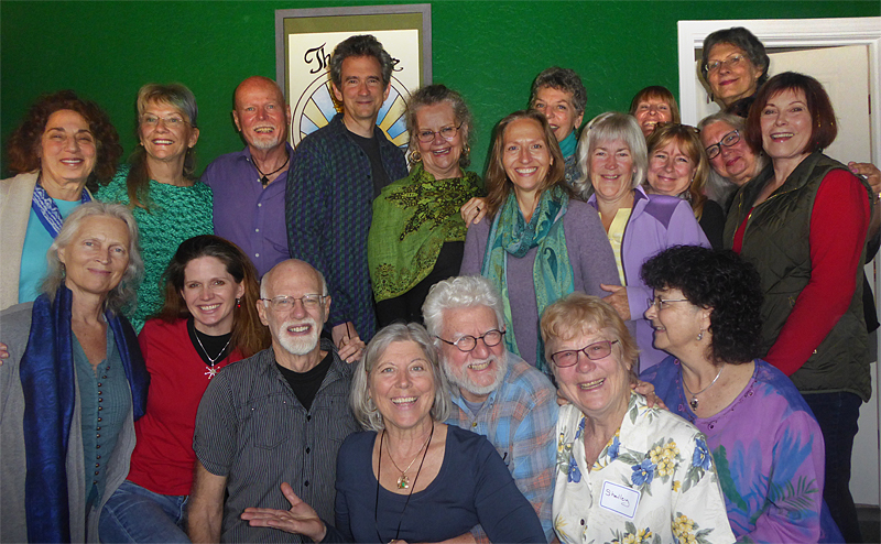 "Our ""temporary tribe"" in Ashland, May 2016"